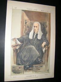 Vanity Fair Print 1870 Rt. Hon Speaker Denison