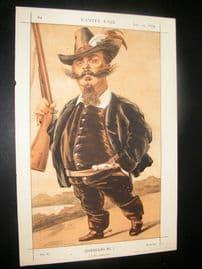 Vanity Fair Print 1870 Victor Emmanuel II, Italy, Royal