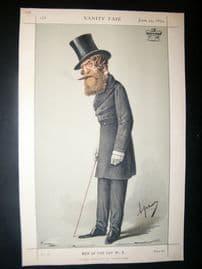 Vanity Fair Print 1870 Viscount Ranelagh
