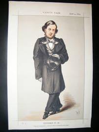 Vanity Fair Print 1870 W.G. Vernon-Harcourt