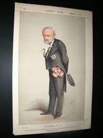 Vanity Fair Print 1871 Charles Cadorna