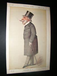 Vanity Fair Print 1871 Count Rudolph Apponyi