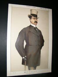 Vanity Fair Print 1871 Don Manuel Rances Villanueva