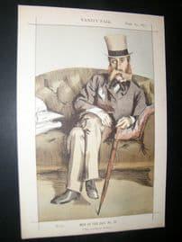 Vanity Fair Print 1871 George John Whyte-Melville