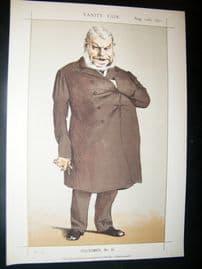 Vanity Fair Print 1871 John Locke Caricature