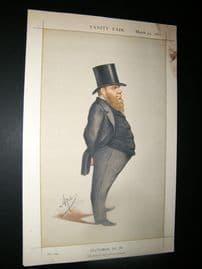 Vanity Fair Print 1871 Richard Dowse