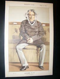 Vanity Fair Print 1871 Russell Gurney, Caricature