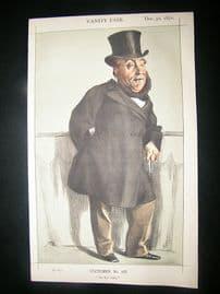 Vanity Fair Print: 1871 William Henry Gregory, Cartoon