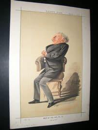 Vanity Fair Print 1872 Alexander William Kinglake