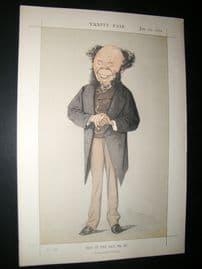 Vanity Fair Print 1872 Dr. Quinn, Doctors