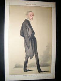 Vanity Fair Print 1872 Rev. Canon Kingsley