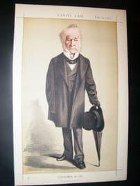 Vanity Fair Print 1872 Spencer Horatio Walpole