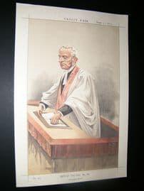 Vanity Fair Print 1872 Very Rev. A. P. Stanley