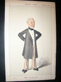 Vanity Fair Print 1873 Field Marshall William Gomm