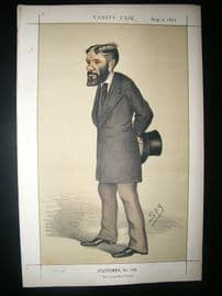 Vanity Fair Print: 1873 George Otto Travelyan