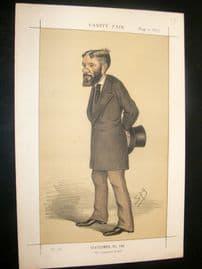 Vanity Fair Print 1873 George Otto Trevelyan - Literary