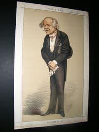 Vanity Fair Print 1873 H. C. Rawlinson, Spy Cartoon