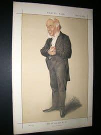 Vanity Fair Print 1873 John Doran, Literary