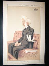 Vanity Fair Print 1873 Lord Colonsay, Legal