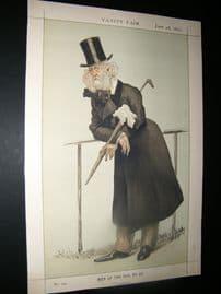 Vanity Fair Print 1873 Washington Hibbert, Music