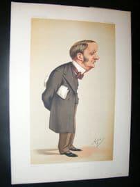 Vanity Fair Print 1874 Charles Forster, Ape Lithograph