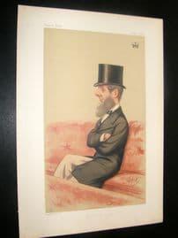 Vanity Fair Print 1874 Duke Of Bedford.