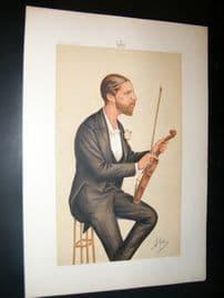 Vanity Fair Print 1874 Duke of Edinburgh, Music