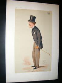 Vanity Fair Print 1874 Earl of Desart, Literary