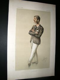 Vanity Fair Print 1874 Herbert Praed, Roller Skater
