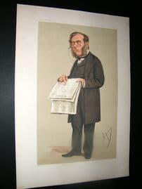 Vanity Fair Print 1874 James Johnstone