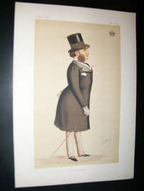 Vanity Fair Print 1874 Lord Hardwicke, Ape Lithograph