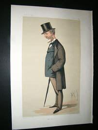 Vanity Fair Print: 1874 Lord William Hay, Explorer