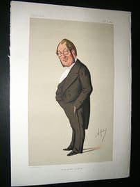 Vanity Fair Print: 1874 Oscar Clayton, Doctor