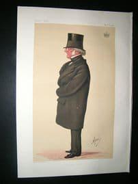 Vanity Fair Print: 1874 Philip-Henry, Earl Stanhope