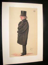 Vanity Fair Print 1874 Philip-Henry, Earl Stanhope