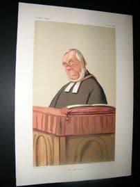 Vanity Fair Print 1874 Rev. James Augustus Hessey