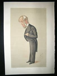 Vanity Fair Print: 1875 Abraham Hayward, Literary