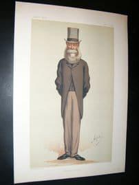 Vanity Fair Print 1875 Clare Sewell Read