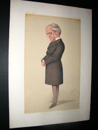 Vanity Fair Print 1875 F. M Muller, Teacher