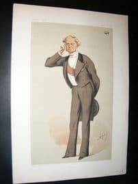Vanity Fair Print 1875 Frederick Ferdinand, Count Beust