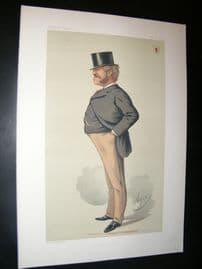Vanity Fair Print 1875 Massey Lopes, Caricature