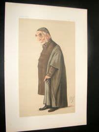 Vanity Fair Print 1875 Rev. Edward B. Pusey, Clergy