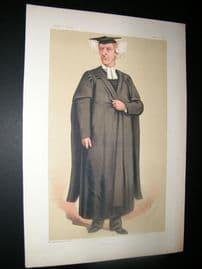 Vanity Fair Print 1875 Rev. H. G. Liddell, Teacher