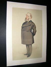 Vanity Fair Print 1875 Richard Baggallay, Legal