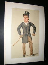 Vanity Fair Print 1876 Charles W. De la Poer Beresford