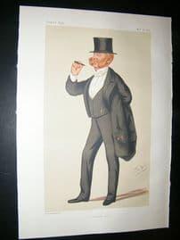 Vanity Fair Print: 1876 Col. Charles Napier, Sturt, Military