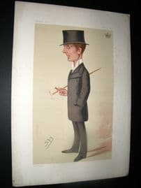 Vanity Fair Print 1876 Earl of Rosebery, Turf