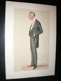 Vanity Fair Print 1876 Henry De Bathe, Spy Cartoon