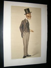 Vanity Fair Print 1876 Marcus Beresford, Spy Cartoon