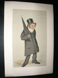 Vanity Fair Print: 1876 Rev. Charles Old Goodford, Teacher